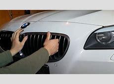 BMW F10 Nieren Wechseln M Performance DM Autoteile