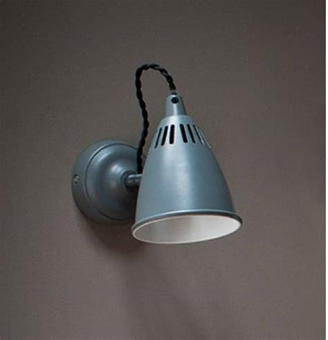 light charcoal grey wall light in charcoal grey by garden selections