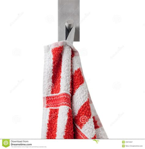 Towels Hanging In Bathroom Stock Hanging Towel Royalty Free Stock Photography Image 25675367