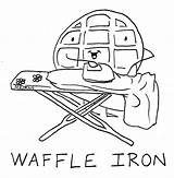 Coloring Waffle Waffles Pages Drawing Sheets Yahoo Iron Template Firefly Nutcracker Catacomb Worksheets Results Getdrawings Published sketch template
