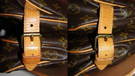 louis vuitton saumur  cross body messenger bag monogram