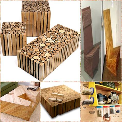 recycled wood projects crafts pinterest