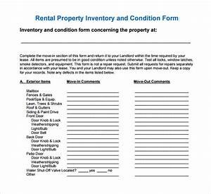 13 rental inventory templates sample templates With inventory for rental property template