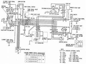 Wiring Diagram Honda Ct90  61502