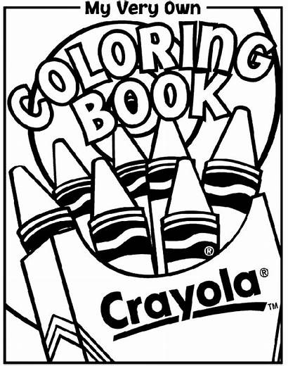 Coloring Crayola Pages