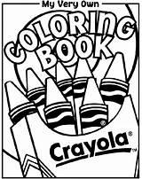 Coloring Crayola sketch template