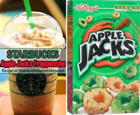The starbucks secret menu drinks: Starbucks Apple Jacks Frappuccino | Starbucks Secret Menu in 2019 | Starbucks cookies, Starbucks ...