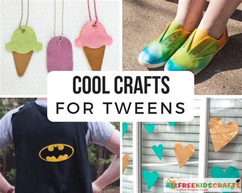 cool crafts  tweens  tween crafts  middle