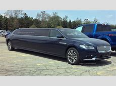 ExtraLong Lincoln Continental Limo Spied