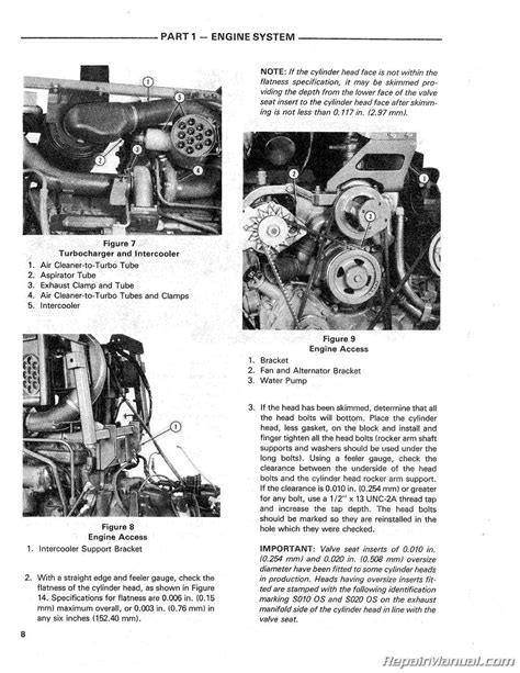 ford tw  tw  tw  tractor service repair manual