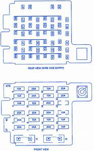 Chevrolet Tahoe 5700 2000 Fuse Box  Block Circuit Breaker Diagram  U00bb Carfusebox