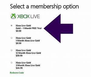 FREE Xbox Live Gold 1 Month Trial Membership & VonBeau.com