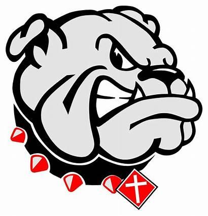 Bulldog Bulldogs Georgia Vector Christian Football Clip