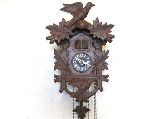 Vintage Wooden Musical Cuckoo Clock Made In West Germany Antique Entry Table With Storage Large Round Mirror Car Shows Alberta Wall Lights Nz Insurance Rules Chairs Ct Light Bulb Sockets Furniture Dealers Nj