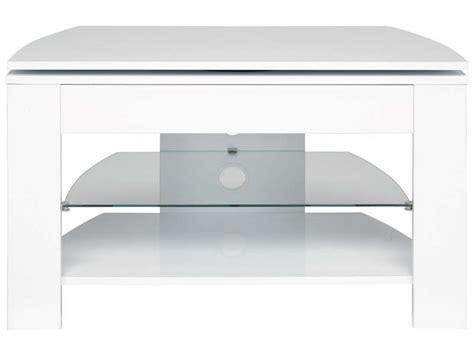 meuble tv passo 4 coloris blanc chez conforama