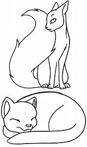 Coloring Pages  Cat By Terasullen On Deviantart