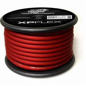 Xp Flex Red 2awg Cable