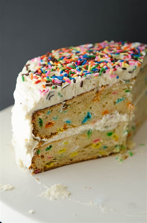 So…let's Hang Out  Glutenfree Funfetti Cake With