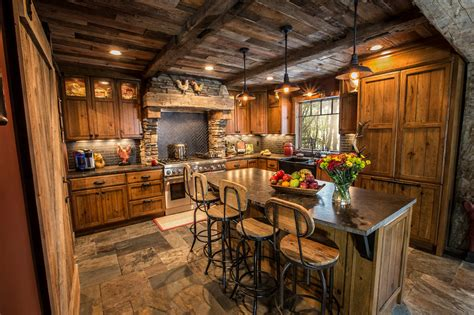 Rustic Kitchens :  Best Photo Gallery Of Interior