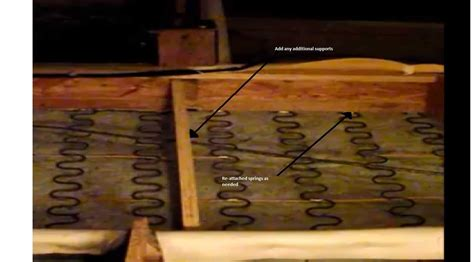 How To Fix A Sagging Springs by How Can I Fix A Saying The Home Depot Community