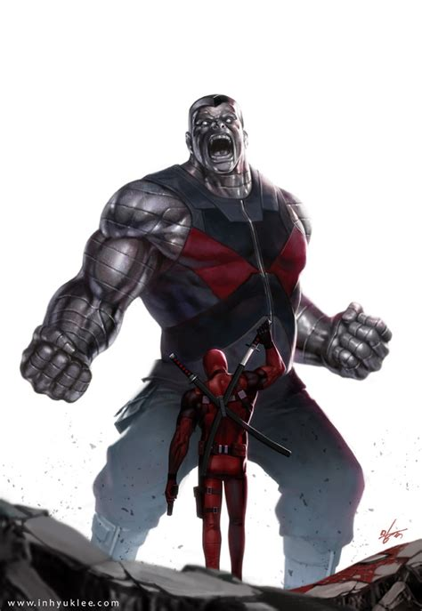 Colossus vs Deadpool - Deadpool (2016) Fan Art (39355473 ...