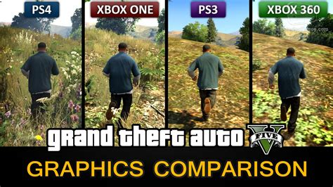 Kaos One One Graphic 5 gta 5 graphics comparison ps4 xbox one ps3 xbox