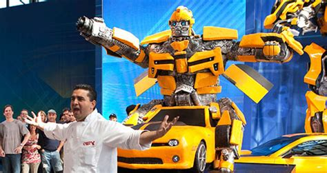 cake boss crew shows   pound bumblebee camaro cake