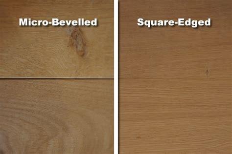 wood flooring blog micro bevelled  square edged oak