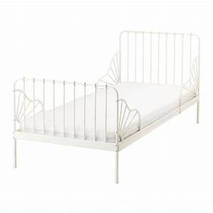 Bett 80x200 Metall : minnen ext bed frame with slatted bed base ikea ~ Indierocktalk.com Haus und Dekorationen