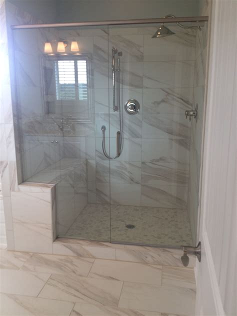 marazzi timeless collection calacatta pearl bathrooms