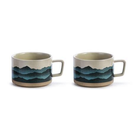 Mug sets assorted tumbler sets espresso cups mugs teacups tumblers ceramic stoneware glass plastic earthenware porcelain stainless steel stone silicone metal titanium wood less than 8 oz 8 to 12 oz 13 to 16 oz 17 to 19 oz 20+ oz <span><span. DEMDACO Love That Mountain Air Soup Mug - Set Of 2 Blue ...