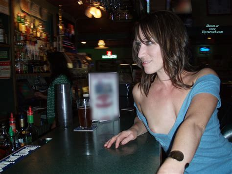 Amateur Public Nipple Slip