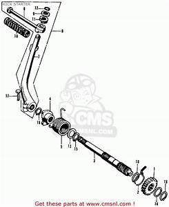 Honda Cl70 Scrambler 1972 K3 Usa Kick Starter
