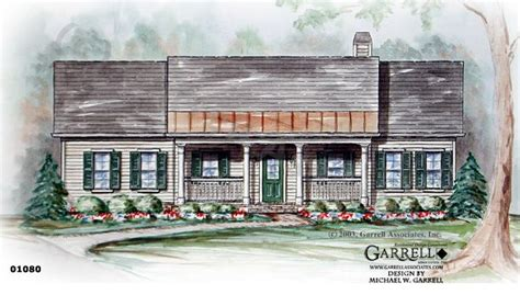 Country Cottage House Plan 01080 Cottage house plans