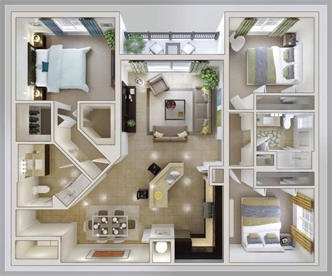 Modern House Layout by Cool Low Budget Modern 3 Bedroom House Design