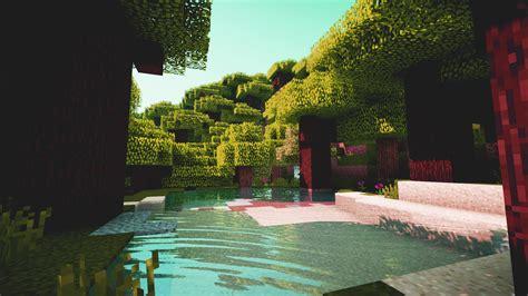 minecraft shaders screenshot edited  wallpapers