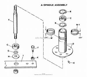 Snapper 30113s 30 U0026quot  11 Hp Rear Engine Rider Series 3 Parts Diagram For Spindle Assembly