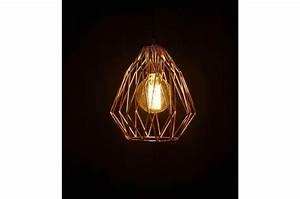 Abat Jour Cuivre : lampe abat jour filaire cuivre oxted suspension pas cher ~ Teatrodelosmanantiales.com Idées de Décoration