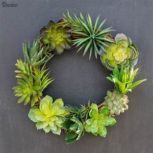 DIY Succulent Wreath: Easy Tutorial - Darice