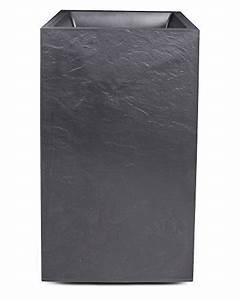 Pflanzkübel Mit Wasserspeicher : pflanzk bel blumentopf vulkan s ule schiefer optik mit wasserspeicher 30 liter garten ~ A.2002-acura-tl-radio.info Haus und Dekorationen