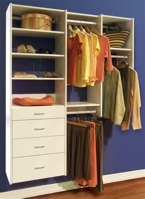 organize to go white reach in closet organizer with