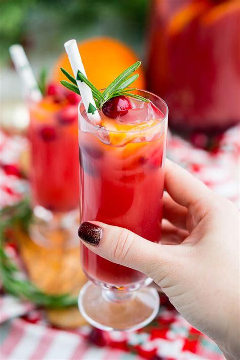 Christmas Punch Recipe (boozy Or Not)  Sugar & Soul