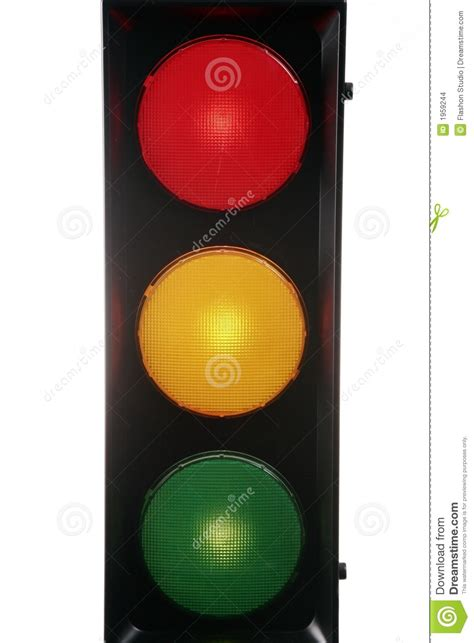 red yellow green traffic light stock images image