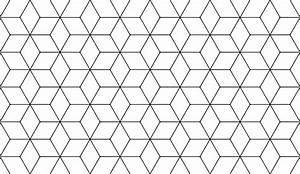 Hexagonal Cube pattern thingie by black-light-studio ...