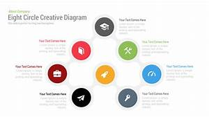 8 Circle Creative Diagram Free Powerpoint Template