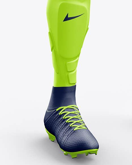 Men s heather cuffed sweatpants front left half side view in apparel mockups on yellow images object mockups. Men's Full Soccer Goalkeeper Kit mockup (Hero Shot) in ...