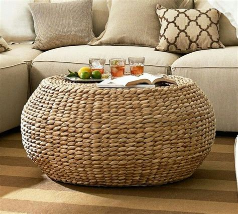Juniper coffee table set it is a juniper coffee table set that has got four seats and round glass top. 8 Round Wicker Ottoman Coffee Table Gallery