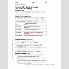 Electrostatics Worksheet Key Rcnschool