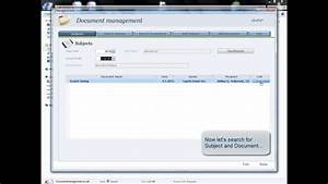 ms access document management youtube With access document management database
