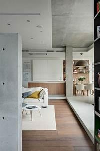 Appartement Contemporain : appartement contemporain esprit loft ~ Melissatoandfro.com Idées de Décoration